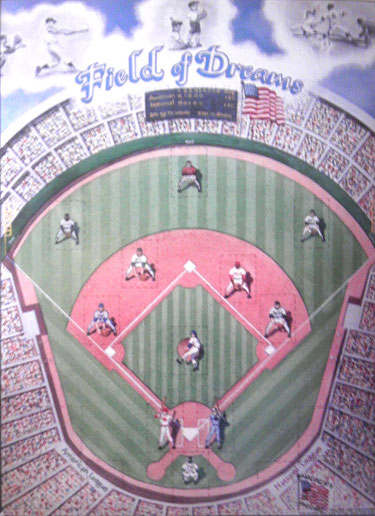 Field of Dreams Baseball Card Poster Holder